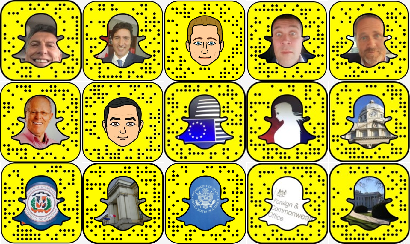 world leaders on snapchat