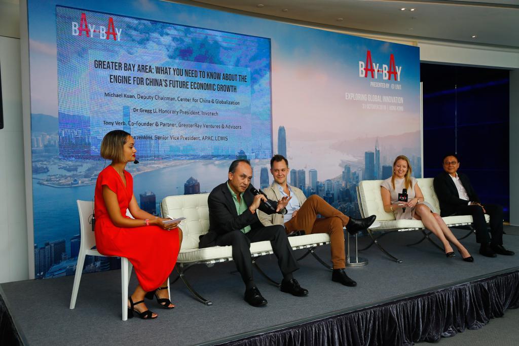 Bay to Bay Hong Kong Opening Panel