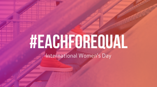 IWD: Moving towards #EachforEqual