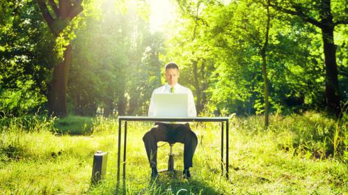 Comment être écologique au travail?