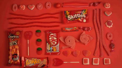 Süßigkeiten am Arbeitsplatz der PRler