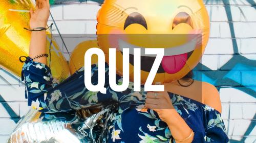 Testen Sie Ihr Wissen über Emojis!