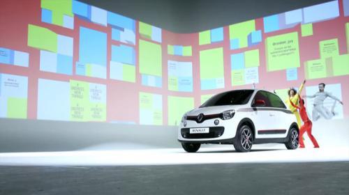 """El primer """"strip tweet"""" para presentar el nuevo Twingo de Renault"""