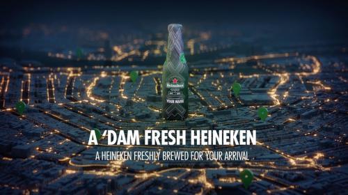 Campaña Heineken: la cerveza personalizada para los turistas