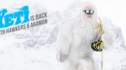 ¿El Yeti en Formigal? Una campaña viral de Hawkers y Aramón