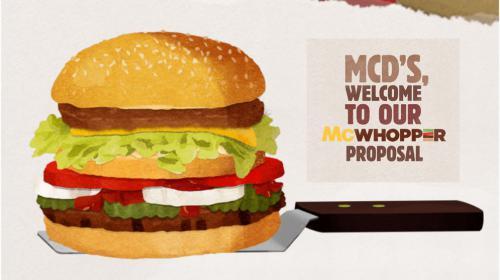 McWhopper: La campaña con la que Burger King quería firmar la paz con McDonald's