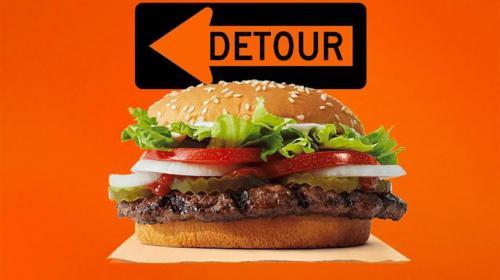 Burger King convierte su debilidad en fortaleza en una impactante campaña digital