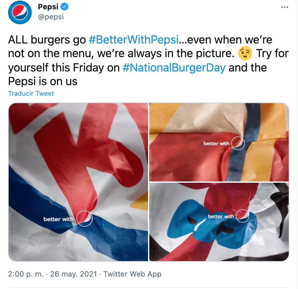 campaña publicitaria de Pepsi
