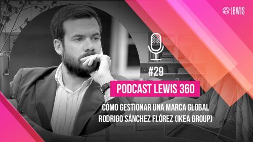 Podcast LEWIS 360: #29– Cómo gestionar una marca global, Rodrigo Sánchez Flórez (IKEA)