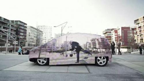 ¡Un coche invisible! La campaña de awareness de Mercedes Benz