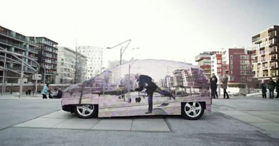 coche invisible mercedes