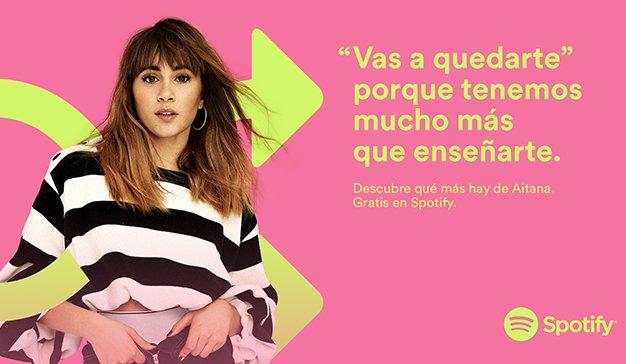campaña Spotify Spain