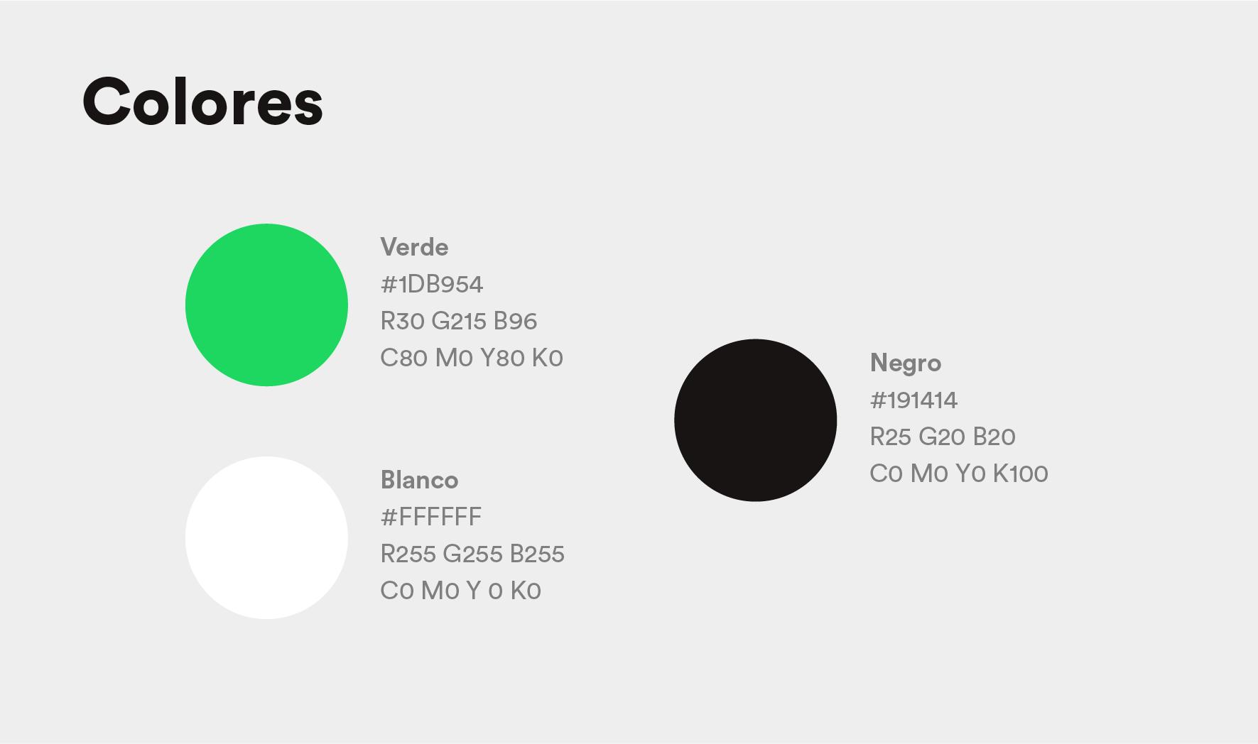 colores manual de identidad corporativa