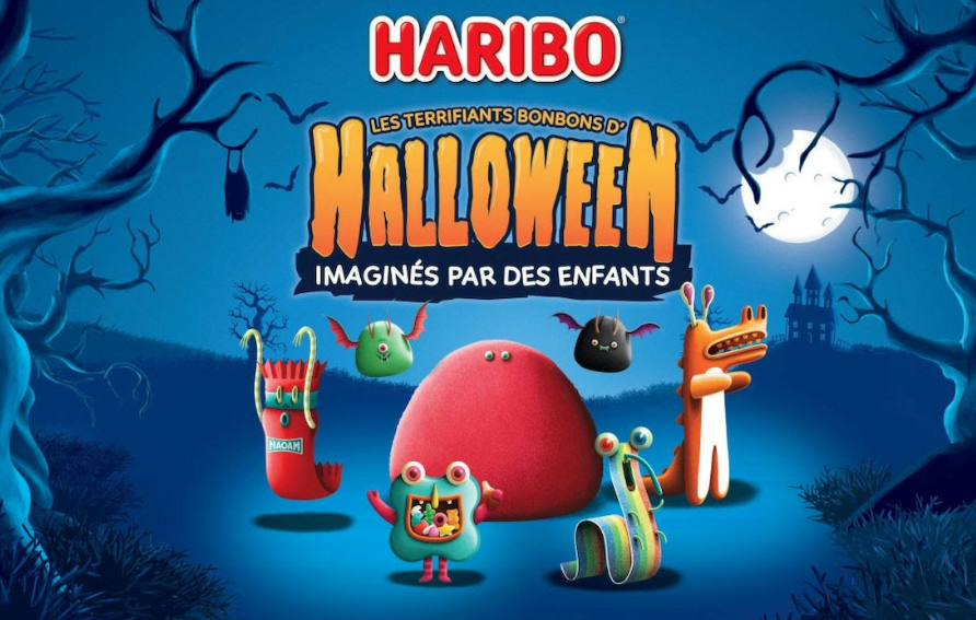Bonbons Haribo Halloween