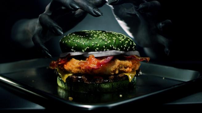 Pub Burger King Halloween