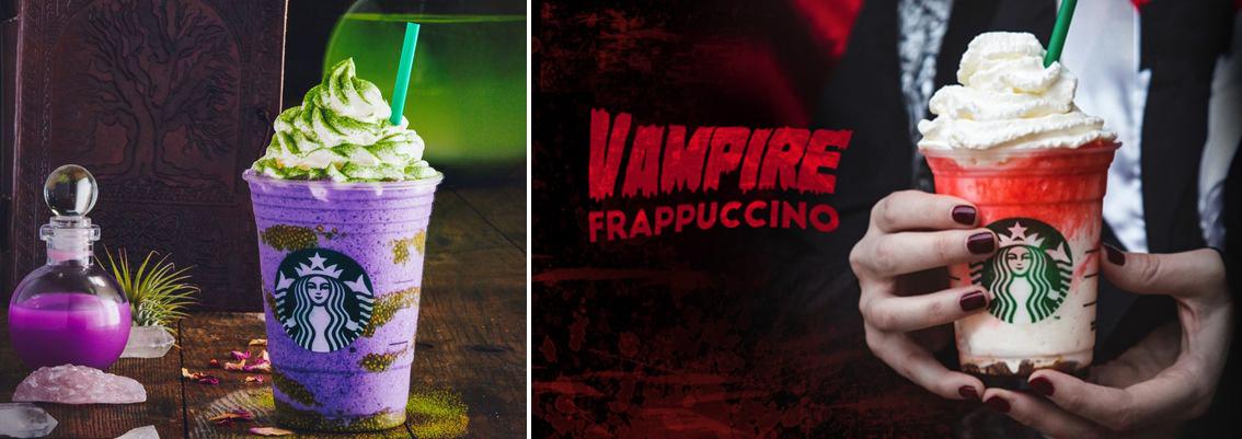 Frapuccino starbucks halloween