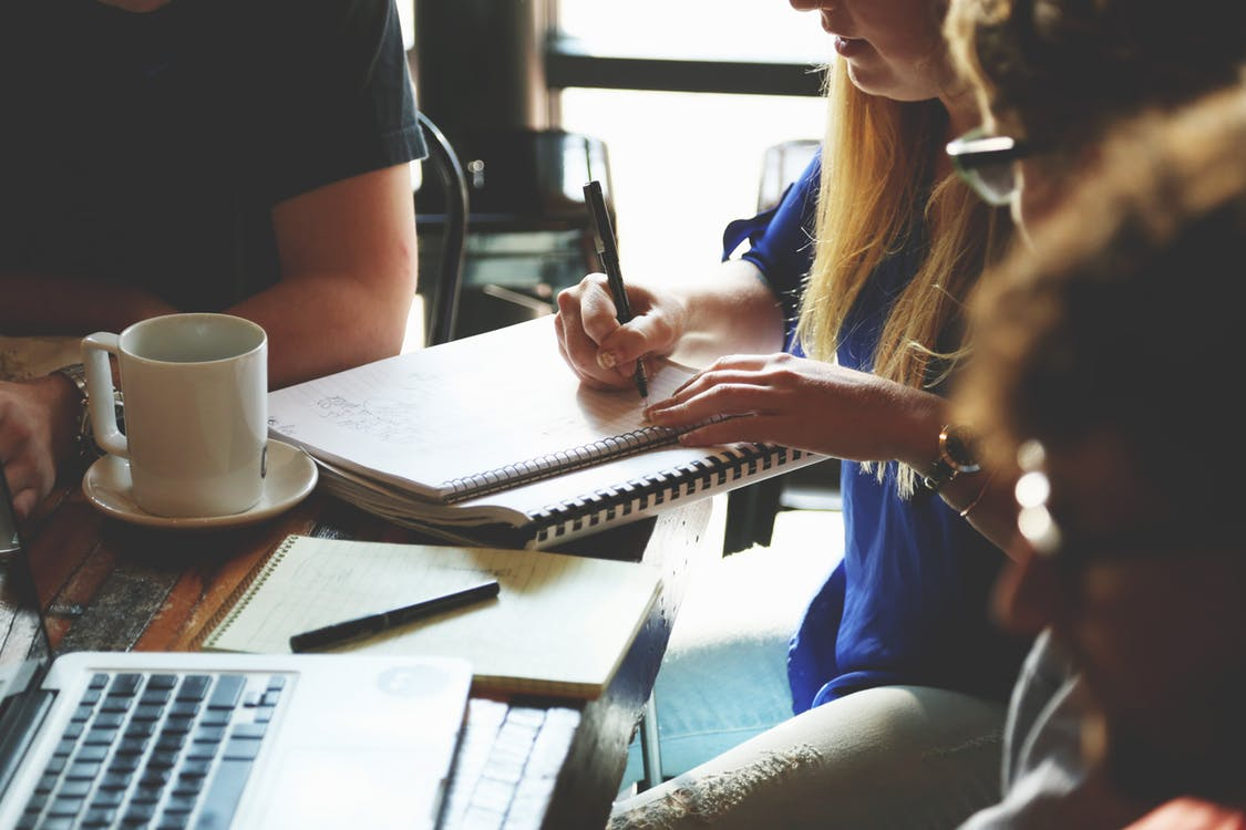 réunion brainstorm messages