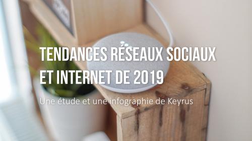 Tendances Réseaux Sociaux & Internet en 2019