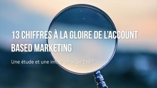 13 chiffres à la gloire de l'Account Based Marketing : infographie par CMIT