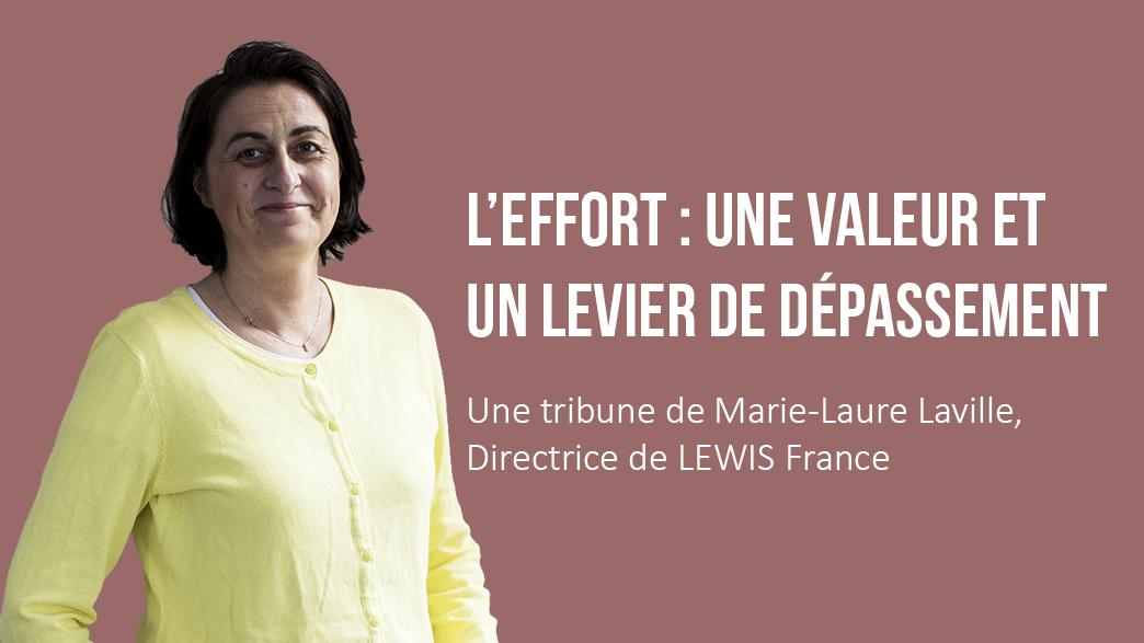 Marie-Laure: l'effort, une valeur et un levier de dépassement