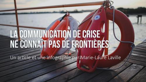 La communication de crise ne connaît pas de frontières