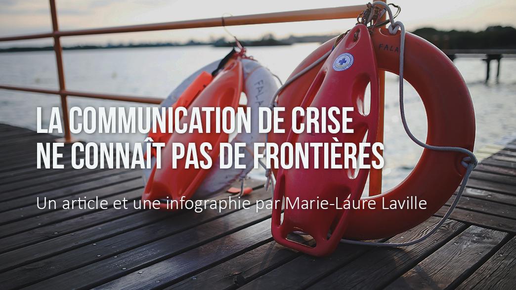 Visuel infographie communication de crise