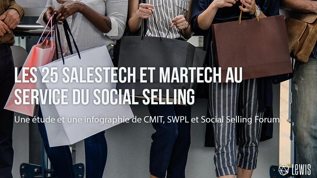 les 25 salestech et martech au service du social selling