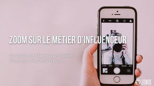 Zoom sur le métier d'influenceur