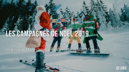 Les campagnes de Noël 2019