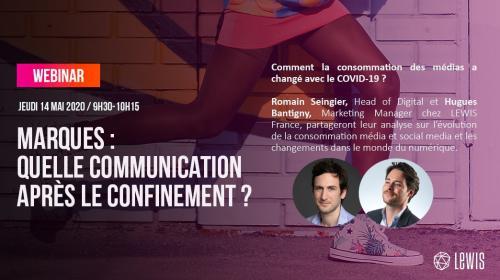 Compte-Rendu Webinar : quelle communication post-confinement ?