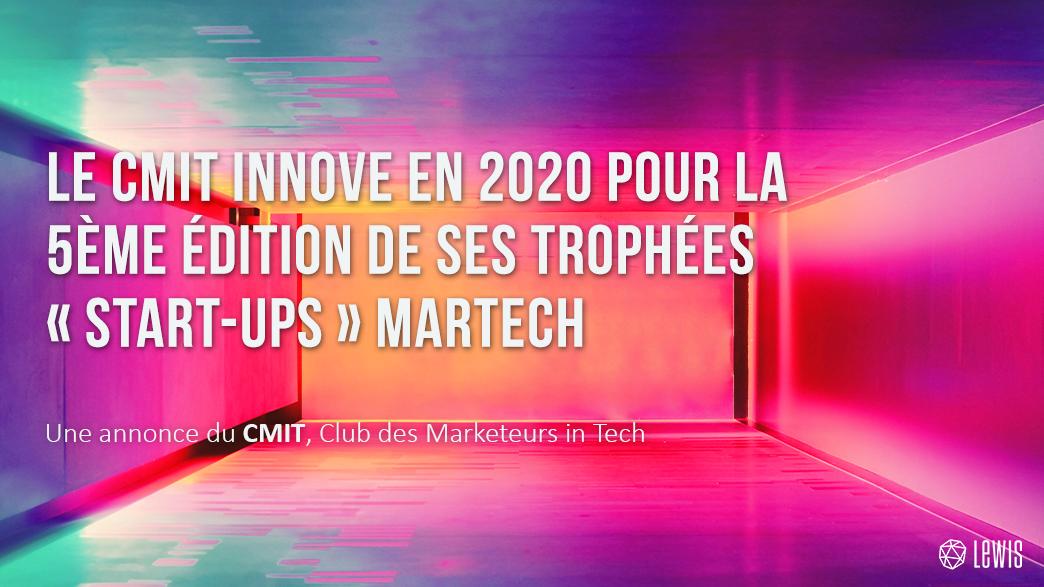 BLOGPOST - 5ème édition des trophées start-ups martech du CMIT