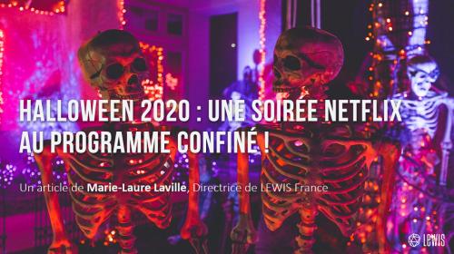 Halloween 2020 : une soirée Netflix au programme confiné !