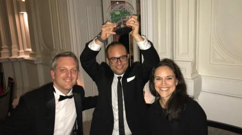 LEWIS trionfa agli ICCO Global Awards 2017