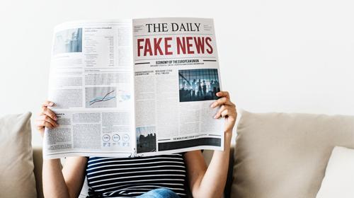leggere fake news sui giornali