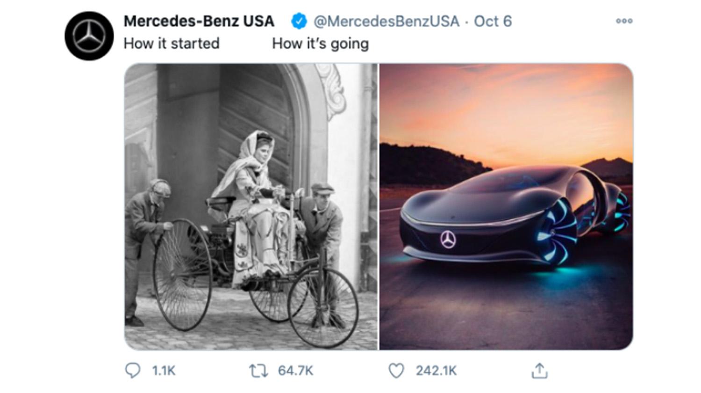 Trend 2021: Social Media - Mercedes