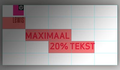 Het einde van het 20% tekst tijdperk?