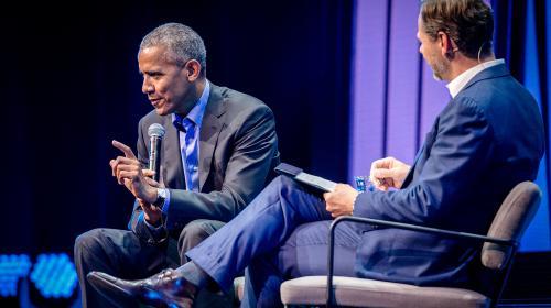 Lessen van Obama: zet de mens weer centraal
