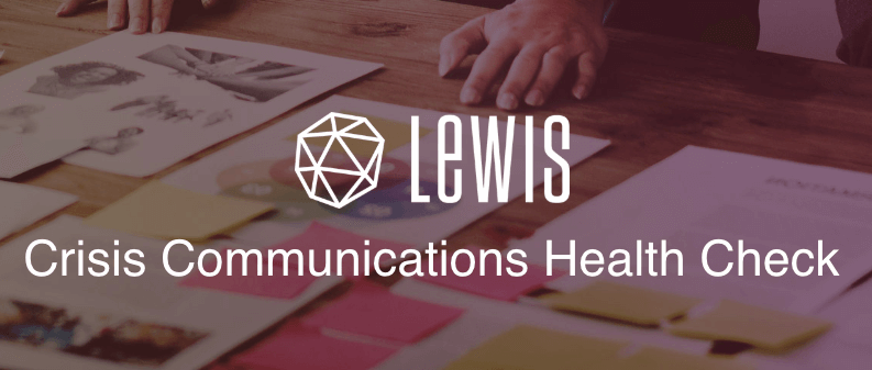 Crise de comunicação LEWIS