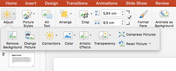 Formatação imagem