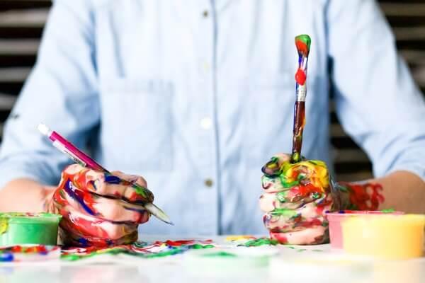 criatividade pintura