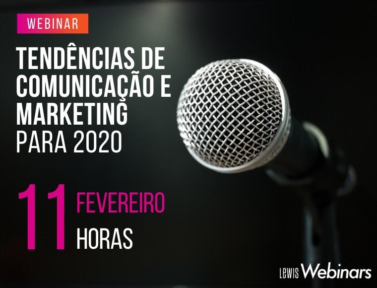 Tendencias de Comunicacao e Marketing para 2020