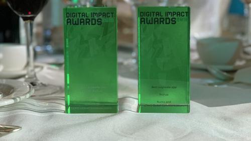 News: LEWIS wins at Digital Impact Awards