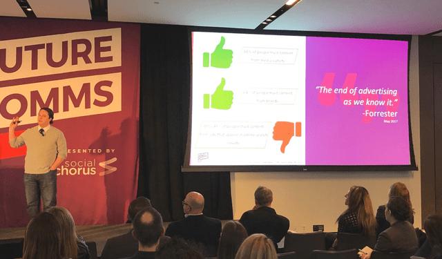 Matt Robbins Speaking at FutureComms