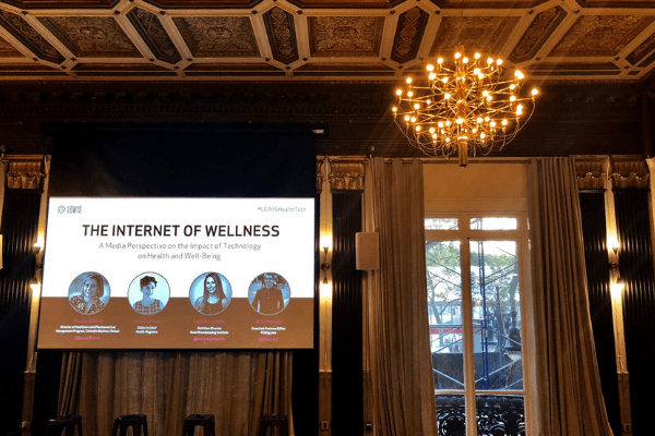 The Internet of Wellness NYC Event Space and Media Panelists