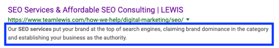SEO Meta Description 2