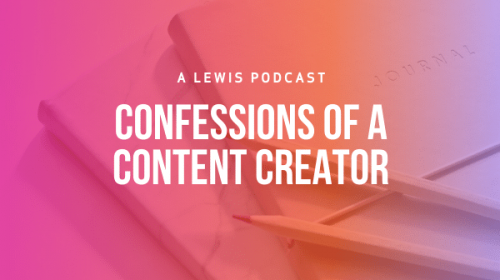 Confessions of a Content Creator