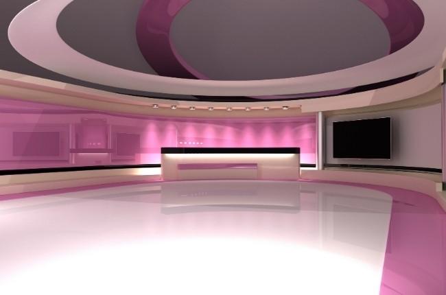 broadcast news studio