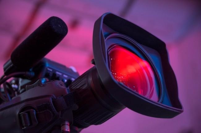 broadcast media news camera